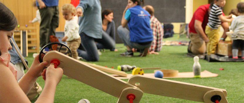 Investigactiva: Espacio de ciencia orientado a niñas y niños de 0 a 8 años